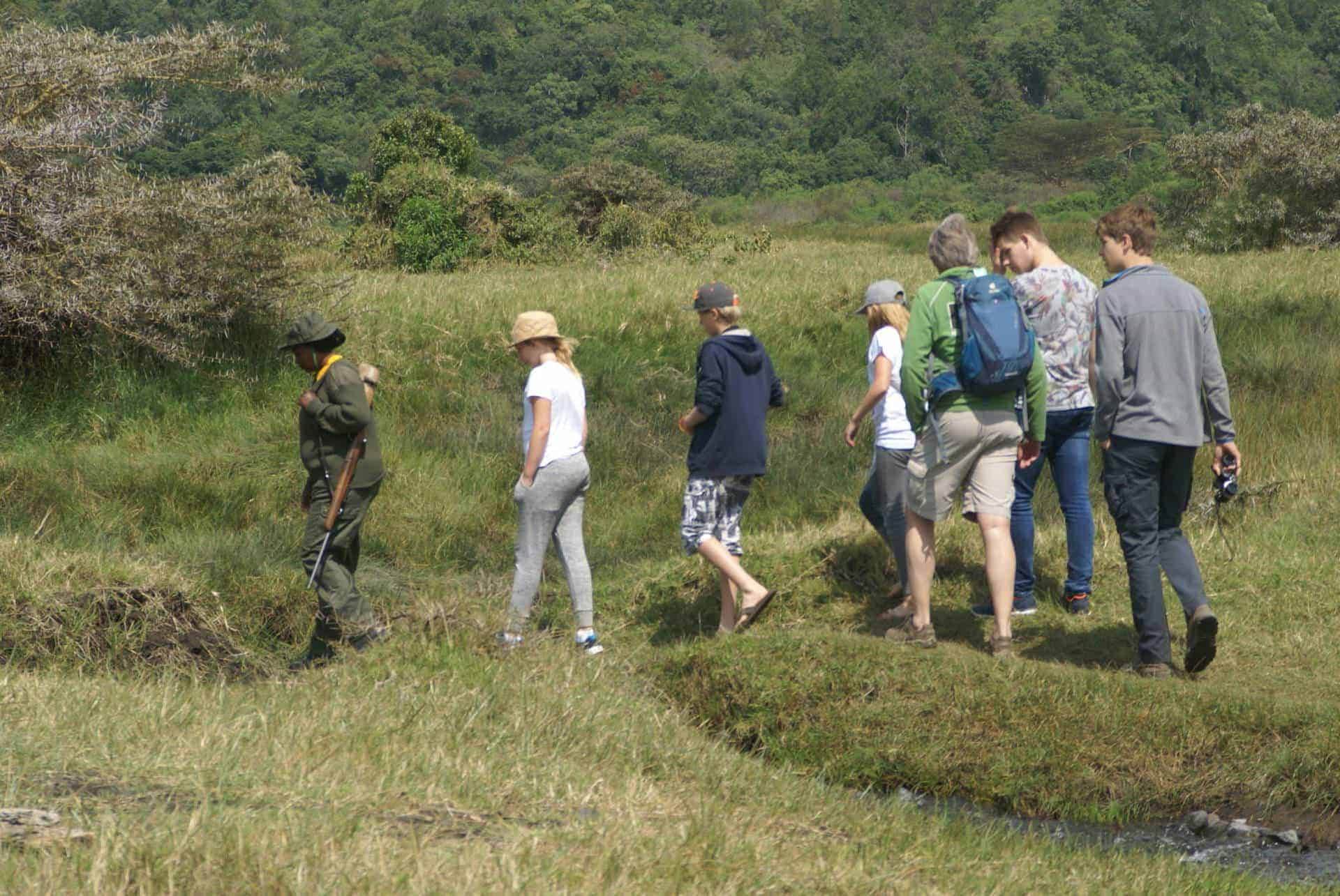 Wandelen in Tanzania