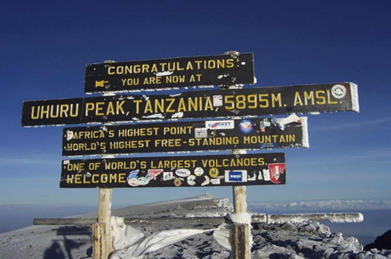 Dagtocht klimmen in Tanzania