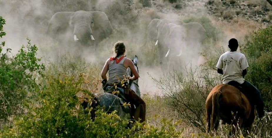 Paardrijden in Tanzania