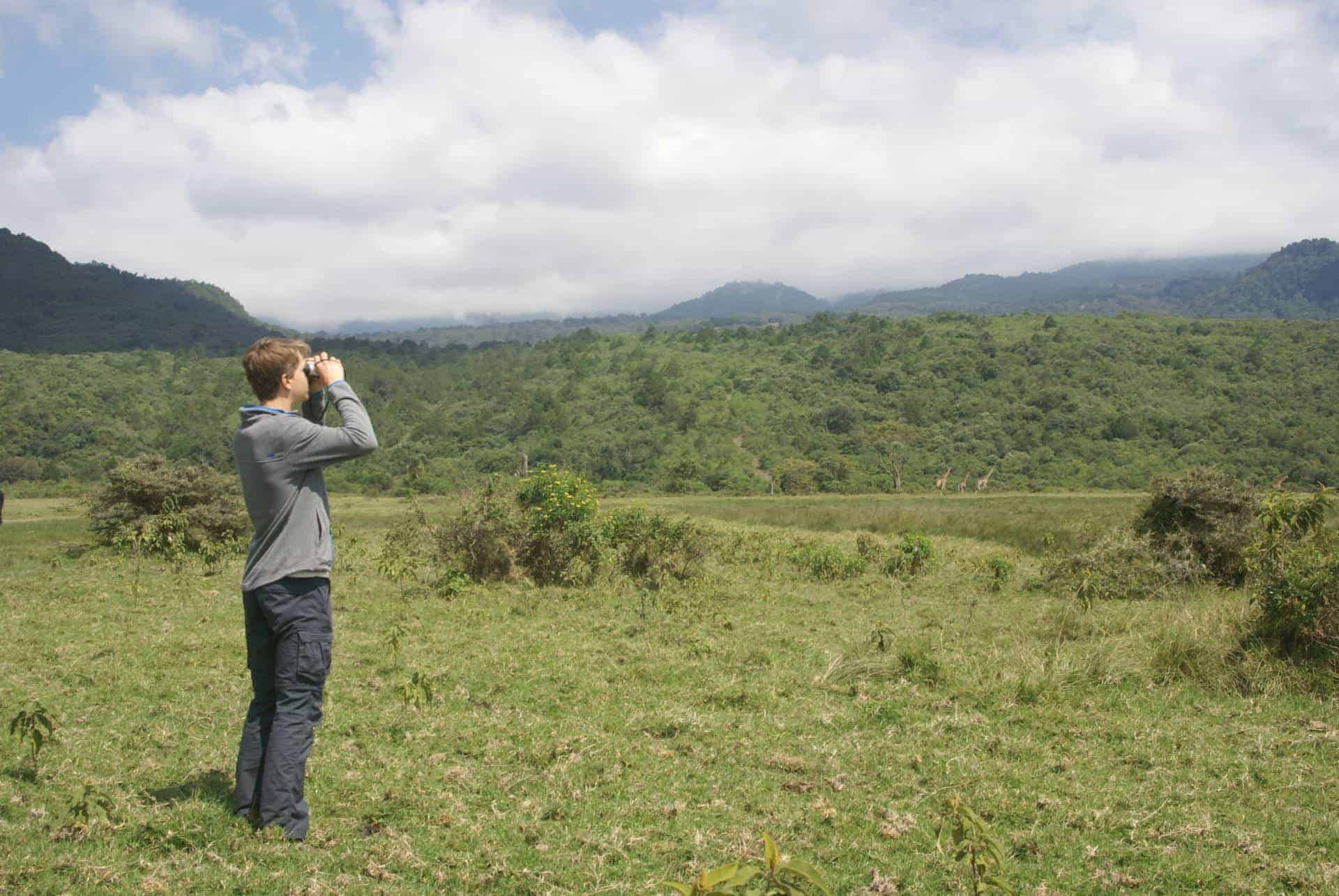 wandelen, actief in tanzania, rondreis, gezinsreis, safari met kinderen