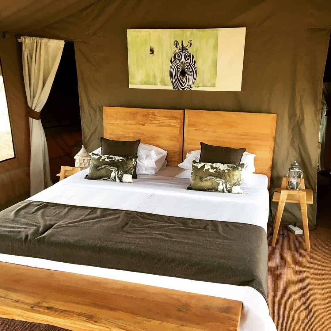 Slow Safari tent