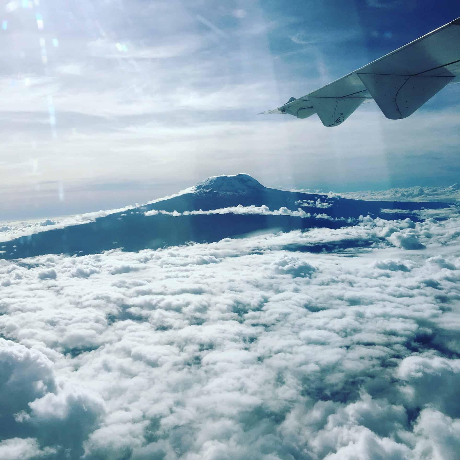 climbing the kilimanjaro